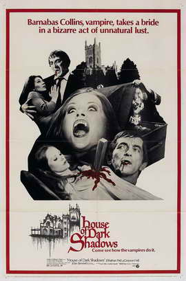 House of Dark Shadows - 11 x 17 Movie Poster - Style D
