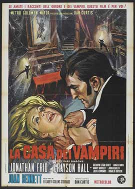 House of Dark Shadows - 11 x 17 Movie Poster - Italian Style A