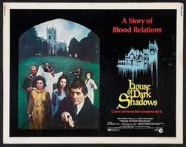 House of Dark Shadows - 11 x 14 Movie Poster - Style A