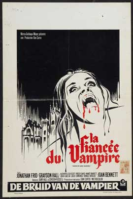 House of Dark Shadows - 11 x 17 Movie Poster - Belgian Style A