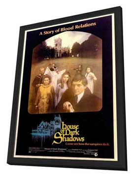 House of Dark Shadows - 11 x 17 Movie Poster - Style A - in Deluxe Wood Frame