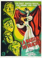 House of Dracula - 27 x 40 Movie Poster - French Style A