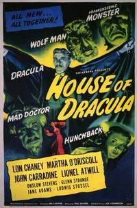 House of Dracula - 11 x 17 Movie Poster - Style A