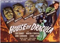 House of Dracula - 11 x 14 Movie Poster - Style A