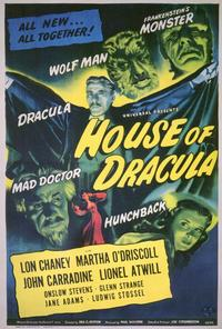 House of Dracula - 27 x 40 Movie Poster - Style A