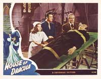 House of Dracula - 11 x 14 Movie Poster - Style G
