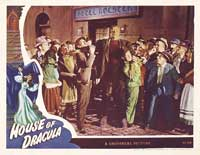 House of Dracula - 11 x 14 Movie Poster - Style H