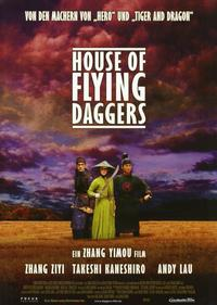 House of Flying Daggers - 11 x 14 Poster German Style D