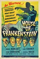 House of Frankenstein - 27 x 40 Movie Poster - Style B