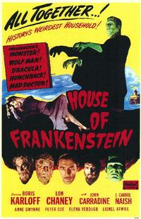 House of Frankenstein - 11 x 17 Movie Poster - Style A