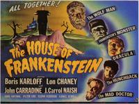 House of Frankenstein - 11 x 14 Movie Poster - Style A