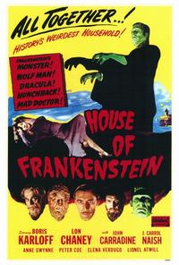 House of Frankenstein - 27 x 40 Movie Poster - Style A