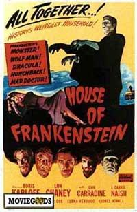 House of Frankenstein - 43 x 62 Movie Poster - Bus Shelter Style A