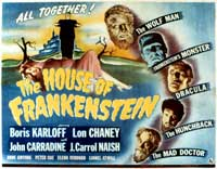House of Frankenstein - 11 x 14 Movie Poster - Style C