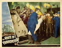 House of Frankenstein - 11 x 14 Movie Poster - Style E