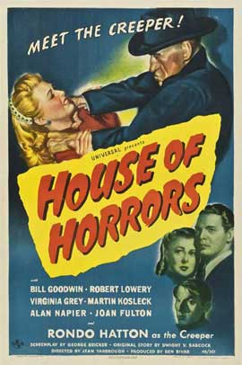 House of Horrors - 27 x 40 Movie Poster - Style A