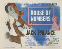 House of Numbers - 11 x 14 Movie Poster - Style B