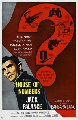 House of Numbers - 27 x 40 Movie Poster - Style A