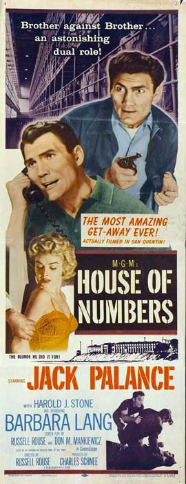 House of Numbers - 14 x 36 Movie Poster - Insert Style A
