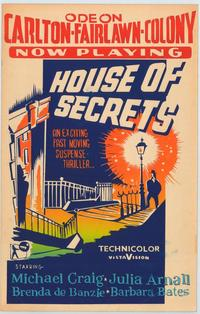 House of Secrets - 27 x 40 Movie Poster - Style A