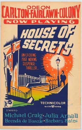 House of Secrets - 11 x 17 Movie Poster - Style A