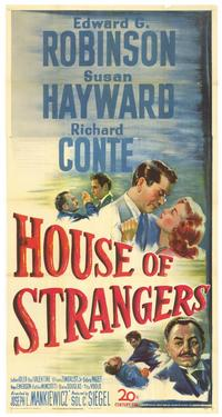 House of Strangers - 11 x 17 Movie Poster - Style A