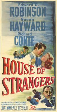 House of Strangers - 41 x 81 3 Sheet Movie Poster - Style A