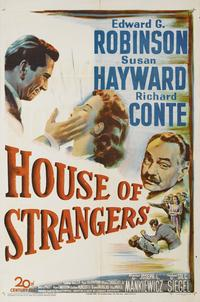 House of Strangers - 11 x 17 Movie Poster - Style B