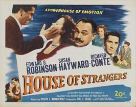 House of Strangers - 11 x 14 Movie Poster - Style A