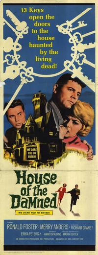 House of the Damned - 14 x 36 Movie Poster - Insert Style A