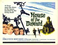 House of the Damned - 22 x 28 Movie Poster - Half Sheet Style A