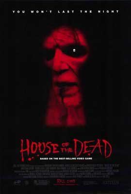 House of the Dead - 11 x 17 Movie Poster - Style A