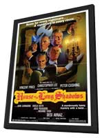 House of the Long Shadows - 11 x 17 Movie Poster - Style A - in Deluxe Wood Frame