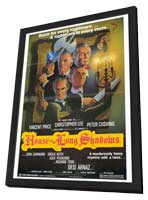 House of the Long Shadows - 27 x 40 Movie Poster - Style A - in Deluxe Wood Frame