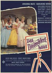 The House of the Three Girls - 27 x 40 Movie Poster - German Style A