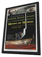 House of Usher - 27 x 40 Movie Poster - Style B - in Deluxe Wood Frame