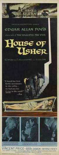House of Usher - 14 x 36 Movie Poster - Insert Style A