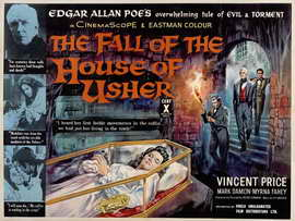 House of Usher - 22 x 28 Movie Poster - Half Sheet Style A
