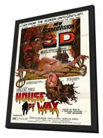 House of Wax - 11 x 17 Movie Poster - Style B - in Deluxe Wood Frame