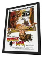 House of Wax - 27 x 40 Movie Poster - Style B - in Deluxe Wood Frame