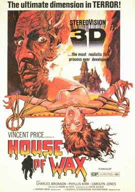 House of Wax - 11 x 17 Movie Poster - Style D