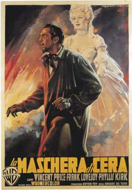 House of Wax - 11 x 17 Movie Poster - Italian Style A