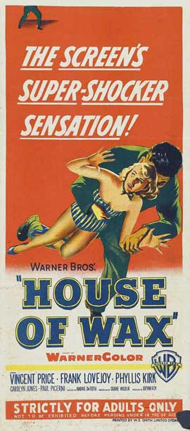 House of Wax - 14 x 36 Movie Poster - Insert Style A