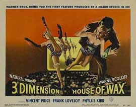 House of Wax - 11 x 14 Movie Poster - Style A