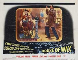 House of Wax - 11 x 14 Movie Poster - Style F