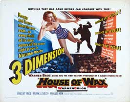 House of Wax - 22 x 28 Movie Poster - Half Sheet Style A