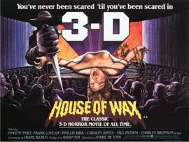 House of Wax - 30 x 40 Movie Poster UK - Style A