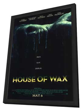 House of Wax - 11 x 17 Movie Poster - Style A - in Deluxe Wood Frame
