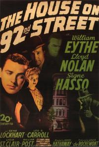 House on 92nd Street - 11 x 17 Movie Poster - Style A