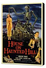 House on Haunted Hill - 11 x 17 Movie Poster - Style A - Museum Wrapped Canvas